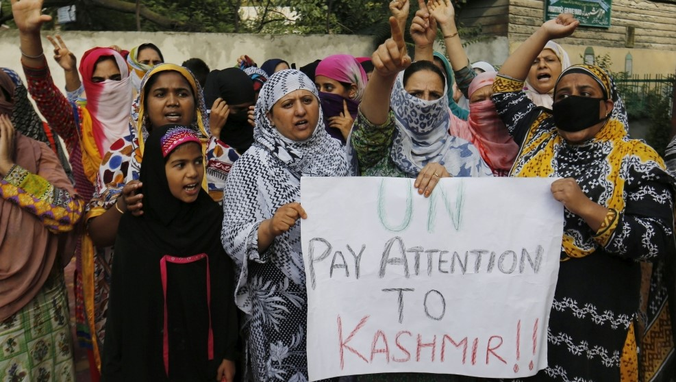 The Arrest of 3 Kashmir Political Leaders by Indian Officers